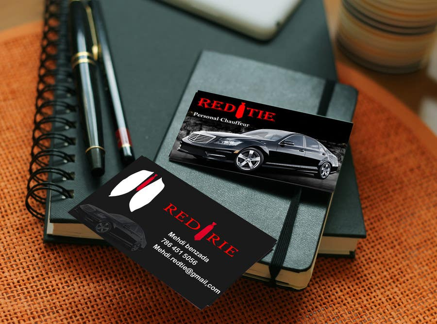 Entry 17 by sddesigner05 for chauffeur business card freelancer colourmoves