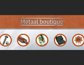 nº 2 pour Facebookheader Metaal boutique par VekyMr