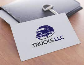 "nº 153 pour ""Trucks LLC"" Logo design par Gradesignersuman"