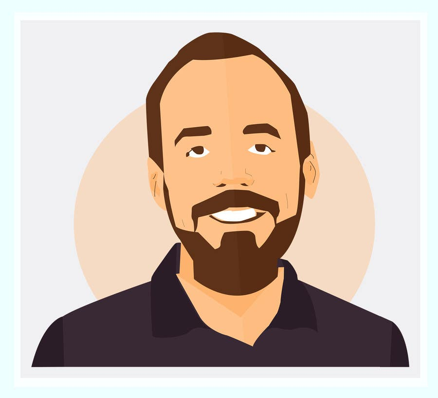 Entry 3 By Sketchdom For Create A Cartoon Illustrated Image Of Me For Use As An Online Avatar Freelancer