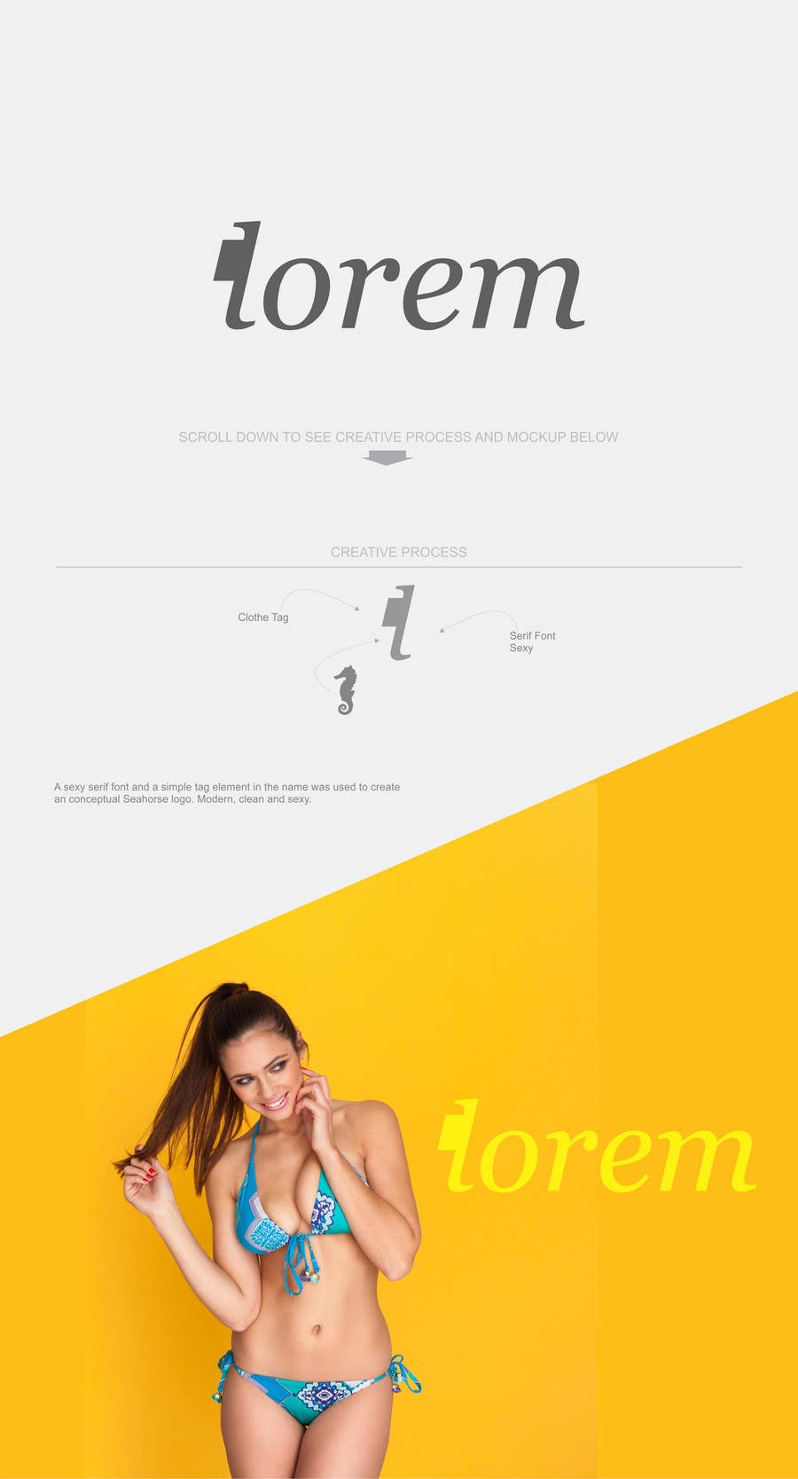 Proposition n°183 du concours Design a Logo for a Womens Swimsuit Brand