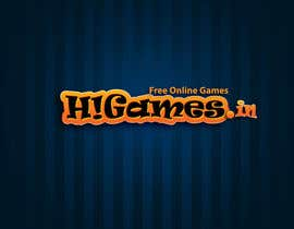 #105 para Logo Design for HiGames.In por outlinedesign