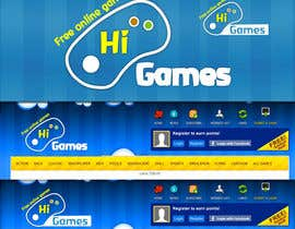 #108 para Logo Design for HiGames.In por marceloquiroz