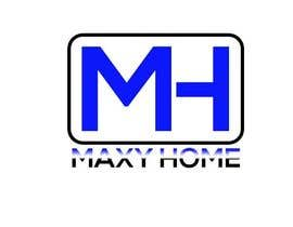 nº 8 pour Design a Logo for: MAXY HOME par isratjahan13