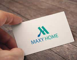 nº 90 pour Design a Logo for: MAXY HOME par munnahossain1996