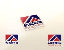 nº 19 pour Design a Roofing company logo par KingoftheLogo