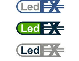 #46 for DESIGN A  LOGO FOR  - Led FX by ramaxdz