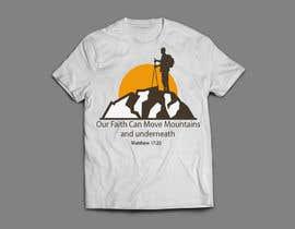 nº 19 pour Design a T-Shirt Our Faith Can Move Mountains par Faysalahmedt