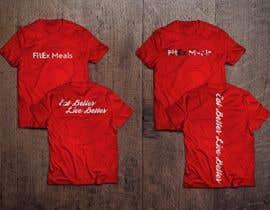 nº 8 pour Design a T Shirt for a Meal Prep Company par JavierCordero92