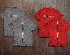nº 15 pour Design a T Shirt for a Meal Prep Company par JavierCordero92