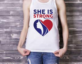 nº 42 pour Design a T-Shirt -  She is Strong par trustgallery