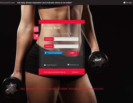 nº 13 pour I need redesign existing fitness inspiration portal par open2010
