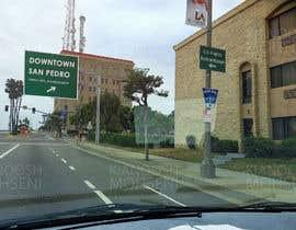 nº 13 pour Photoshop a public city sign that goes over the street par KianooshBC
