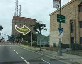 nº 15 pour Photoshop a public city sign that goes over the street par TheoUe