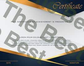 nº 16 pour Design a certificate par bolanabil