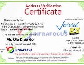 nº 1 pour Design a certificate par mohamedsalah199