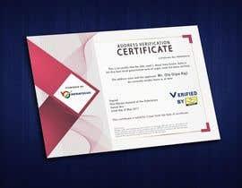 nº 19 pour Design a certificate par AnkitAbhinav