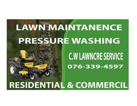 nº 28 pour Design a Banner for A Lawncare Company par mohidulgd