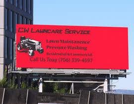 nº 5 pour Design a Banner for A Lawncare Company par GdesignerMIM