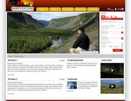 #45 pentru Website Design for Sami Culture (Joomla!) de către harrifree