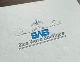 nº 351 pour Design a Logo For eCommerce Store Blue Wave Boutique par JohnDigiTech
