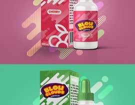 nº 31 pour Create a hip label for a E-Liquid including Logo based on a fruit candy lollipop. par migueloelo