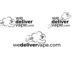 nº 10 pour We Deliver Vape par irisdesign
