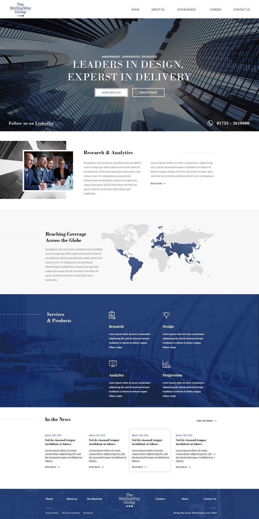 Proposition n°13 du concours home page design