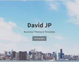 nº 7 pour home page design par davidjawphan