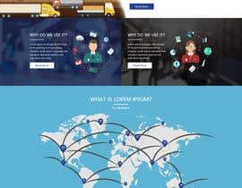 nº 14 pour home page design par sudpixel