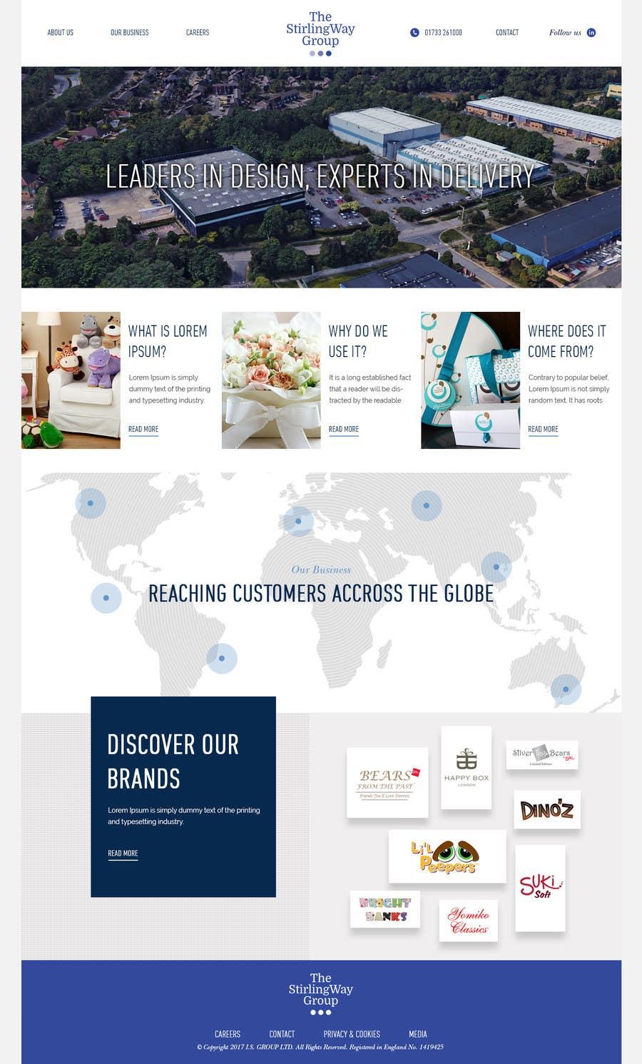 Proposition n°37 du concours home page design