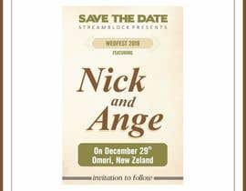 nº 26 pour WEDDING INVITE - SAVE THE DATE par savasniyanaresh0