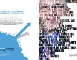 nº 15 pour Design a Brochure for motivational speaker par habib79in