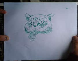 nº 25 pour ILLUSTRATOR needed to draw Cartoon Cat character from photo par karipicca