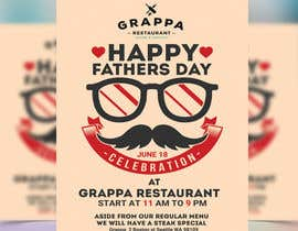 nº 23 pour Father's day at Grappa par VectorSign