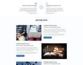 nº 39 pour Design a Website Mockup par aliul
