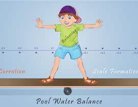 nº 14 pour Illustrate a concept of pool water balance par Muyed