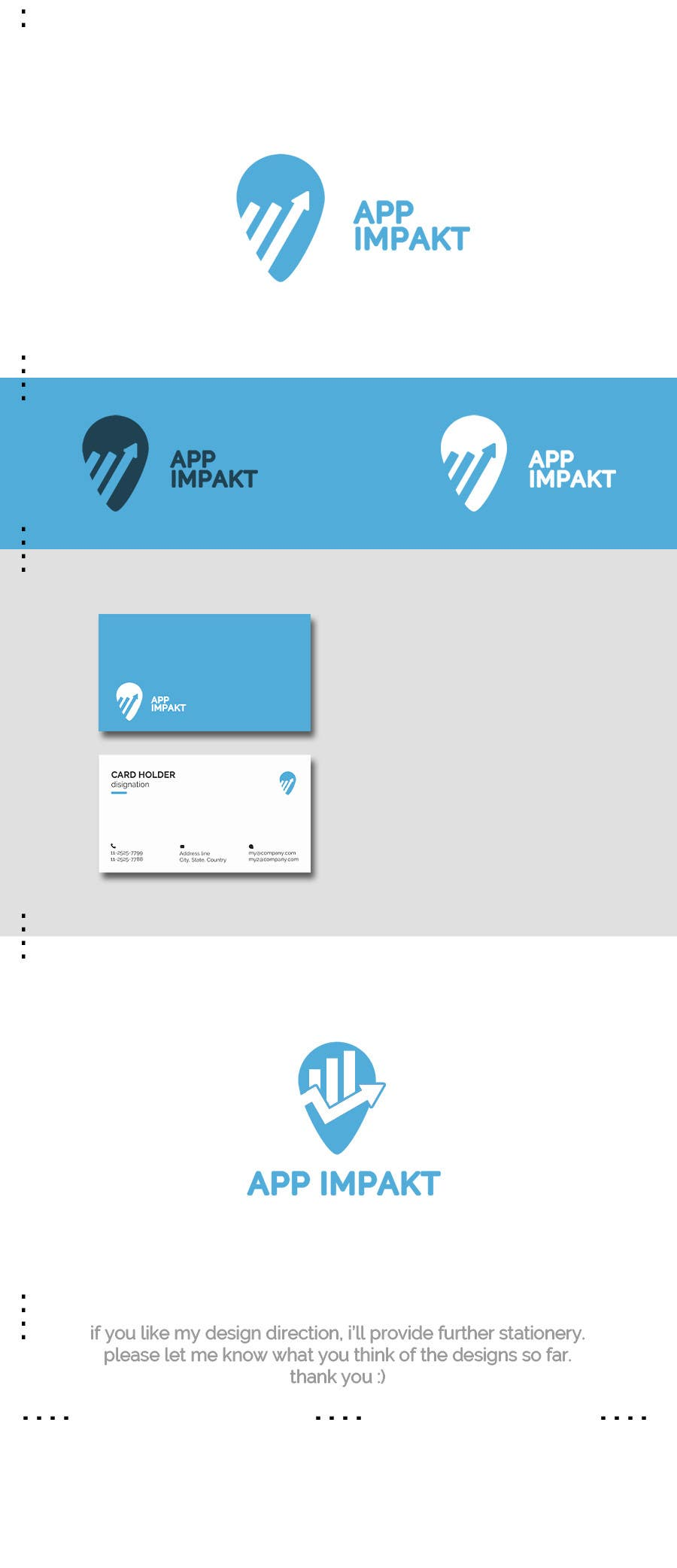 Proposition n°64 du concours Design a Logo and all stationery materials