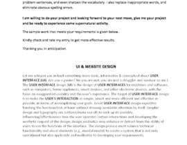 nº 14 pour Write contents for a website par chfahad47