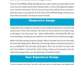 nº 3 pour Write contents for a website par suaibme