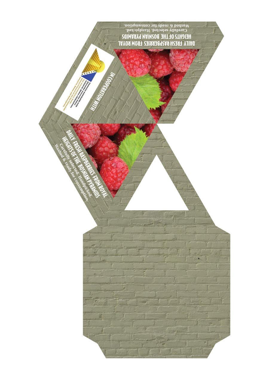Proposition n°3 du concours Pyramid packaging - print design