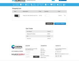 nº 4 pour Re-design basic pages from our website - including checkout, users dashboard and register page par aryamaity