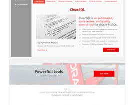 nº 35 pour Polish the draft design of our new corporate website par chouaieb90
