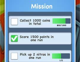 nº 14 pour Design UI for 1 Mobile Game Screen (Simple) par tlclarke25