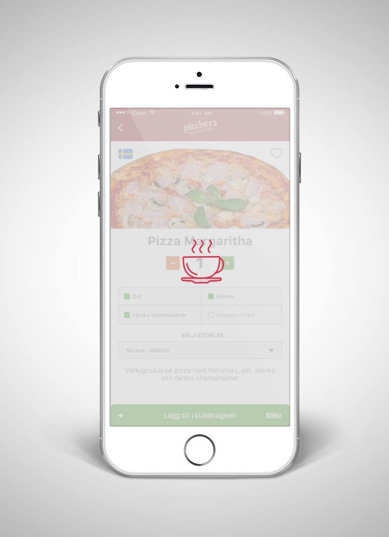 Entry #2 by dipenrautar for Loading animation for food app