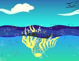 nº 61 pour Quickly need artistic diagram similar to ocean kelp above-below water par rifatjahan0612