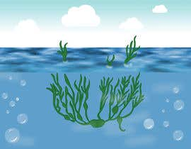 nº 45 pour Quickly need artistic diagram similar to ocean kelp above-below water par vaidehibala
