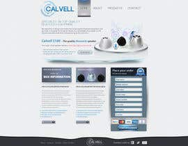 #83 para Website Design for Calvell.com por Kindland
