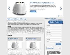 #85 para Website Design for Calvell.com por kosmografic
