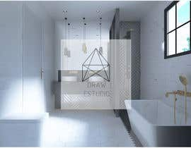 nº 2 pour 3d render of bathroom par PatriciaHeras